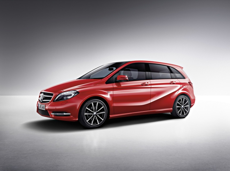 Mercedes Benz A-Class & B-Class Edition 1 Details Out