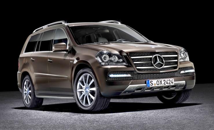 Mercedes Benz GL-Class SUV