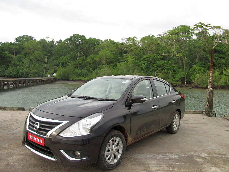 2014 Nissan Sunny Sedan Facelift Photo