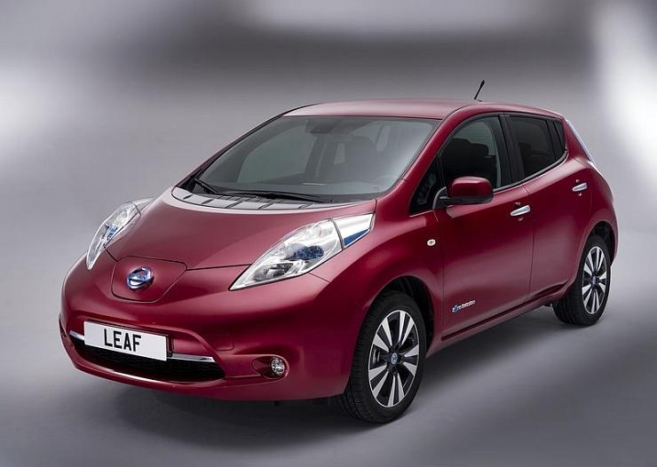 2014 Nissan Leaf Electric Car Image