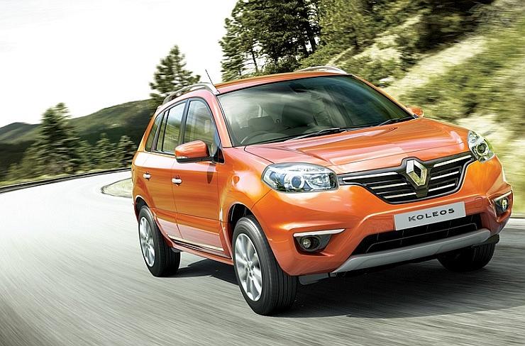 Second Generation Renault Koleos Luxury Crossover due in 2016