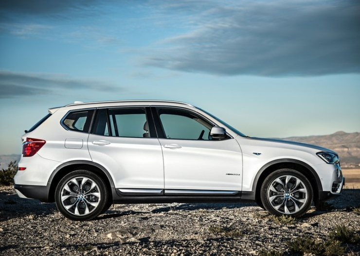 2015 BMW X3 SUV Facelift Picture