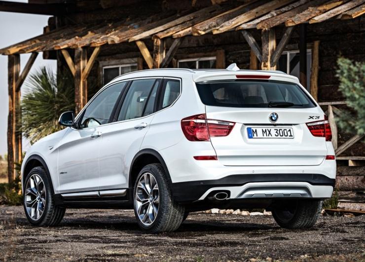 2015 BMW X3 SUV Facelift Image