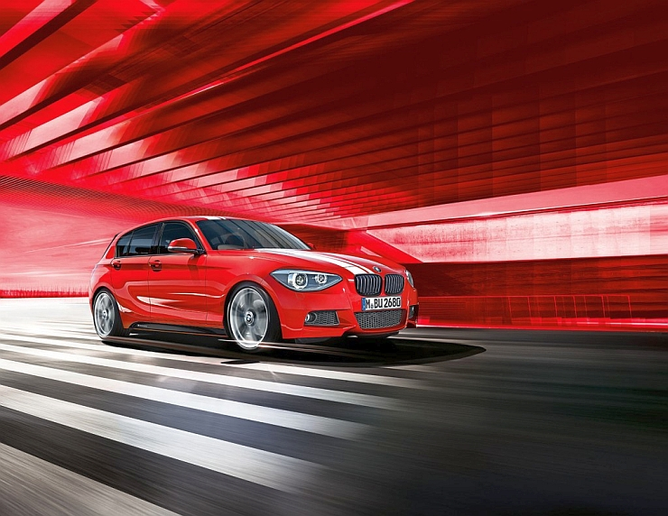 Now Official Bmw 1 Series M Performance Edition Hatchback Launched