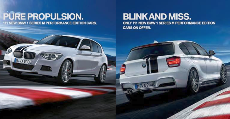 BMW 1-Series M Performance Limited Edition Hatchback introduced in India