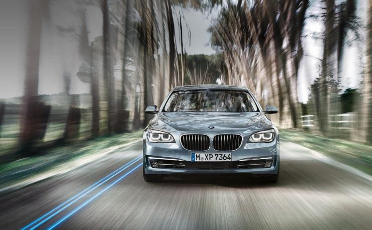 BMW 7-Series ActiveHybrid Luxury Saloon Pic