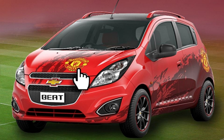 General Motors India to launch Chevrolet Beat and Sail Manchester United Edition cars on July 7th
