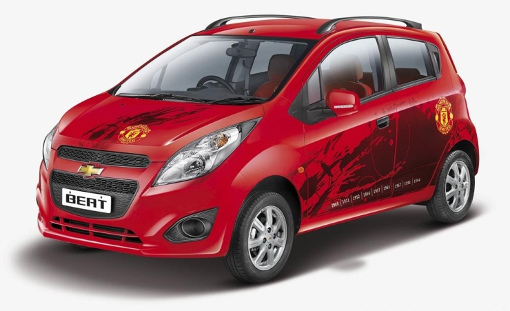 Chevrolet Beat Manchester United Edition
