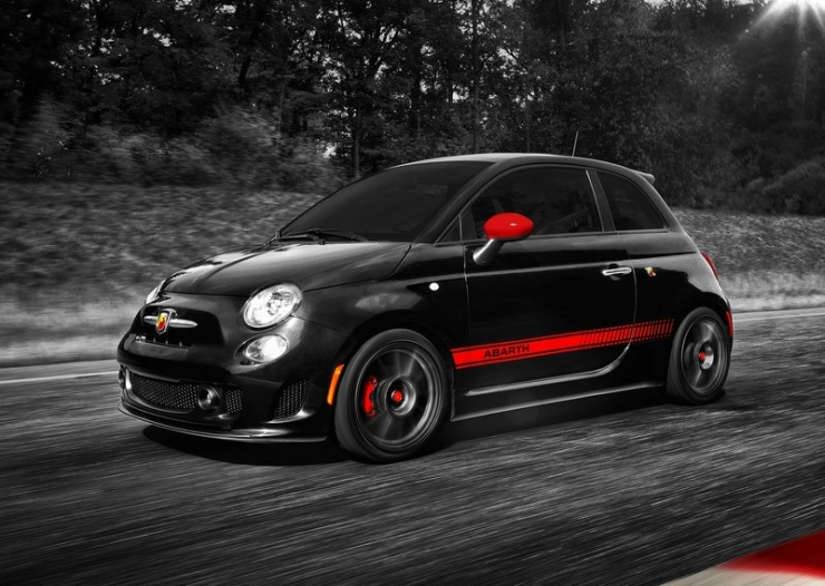 Fiat Abarth 500 7