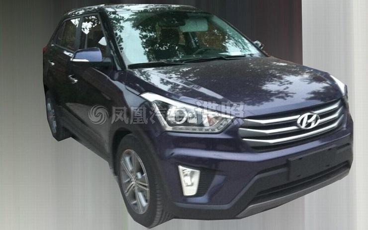 Production-spec 2015 Hyundai iX25 Compact SUV caught on camera