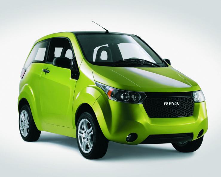 Mahindra Reva E2O Electric Car Pic