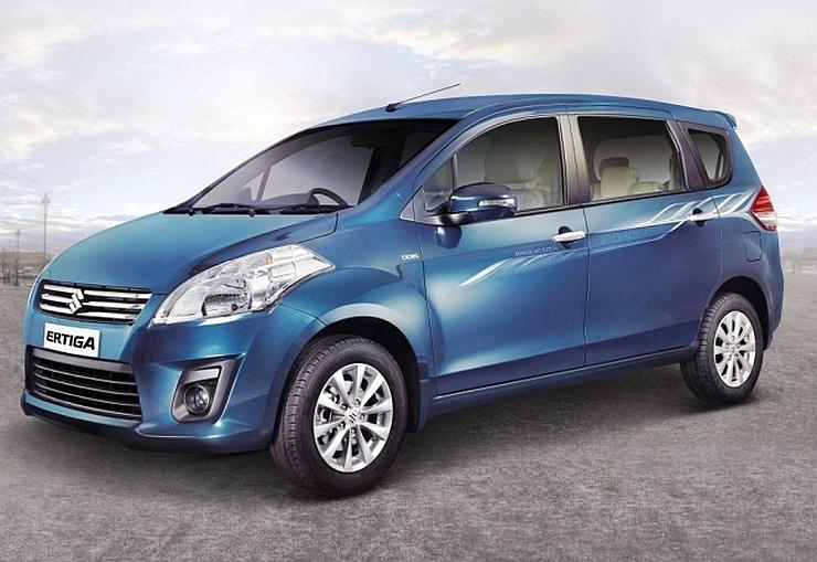Current-Generation Maruti Suzuki Ertiga MPV Image