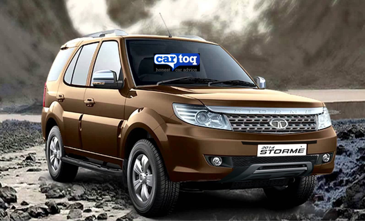 Tata Safari Storme SUV Refresh 1