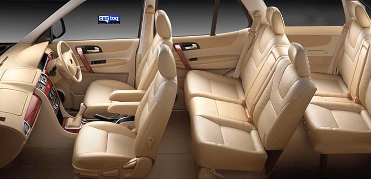 CarToq's speculative render of the Tata Safari Storme Facelift's Interior