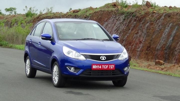 2014 Tata Zest Compact Sedan Photo