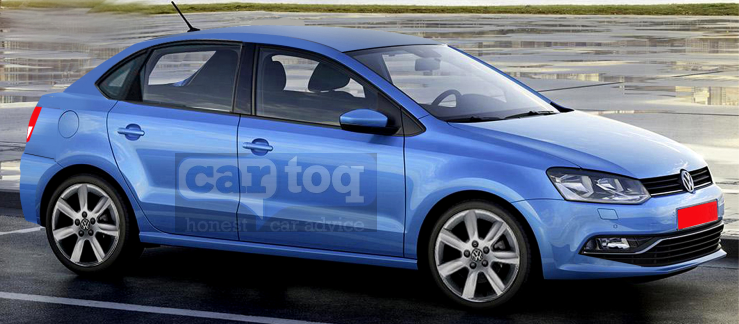 CarToq's speculative render of the 2015 Volkswagen PQ25 Platform based Compact Sedan pic