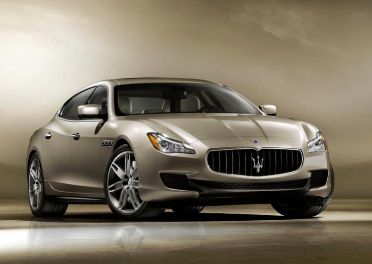 Maserati Quattroporte Luxury Saloon Image