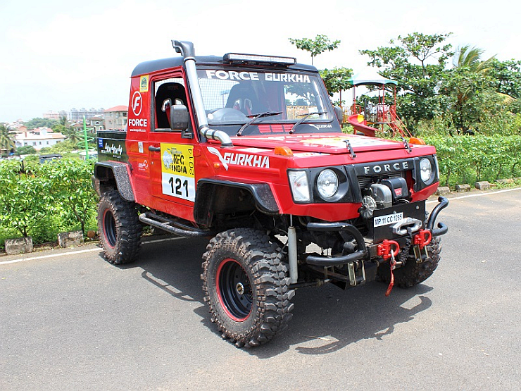 RFC Prepped Force Gurkha Off Roader SUV Image