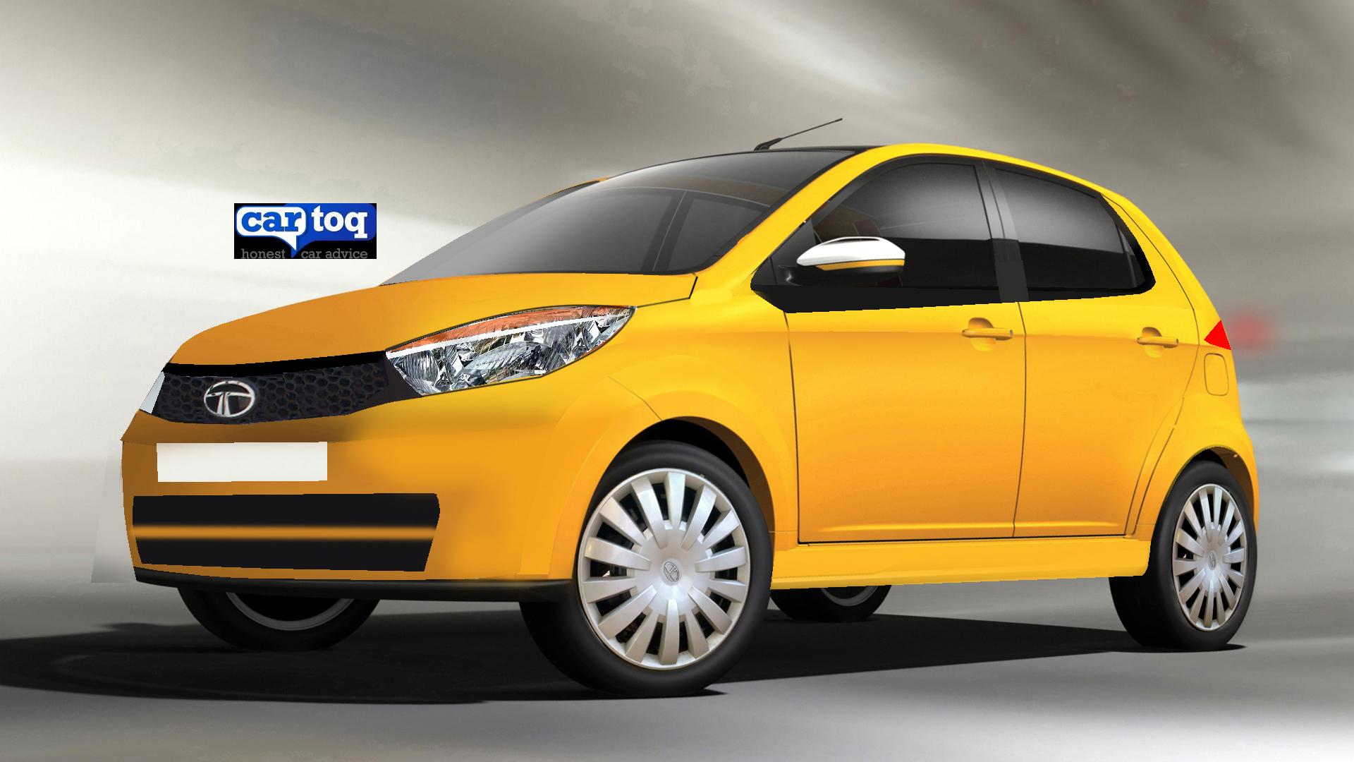 CarToq Exclusive – 2015 Tata Kite compact sedan caught on video