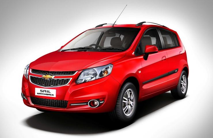 General Motors India's Chevrolet Sail UV-A hatchback and sedan refreshed