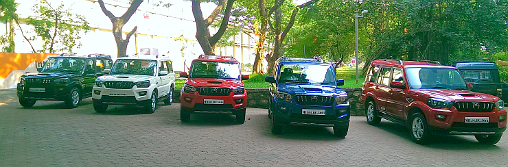 2015 Mahindra Scorpio SUV Facelift – All the details from the launch