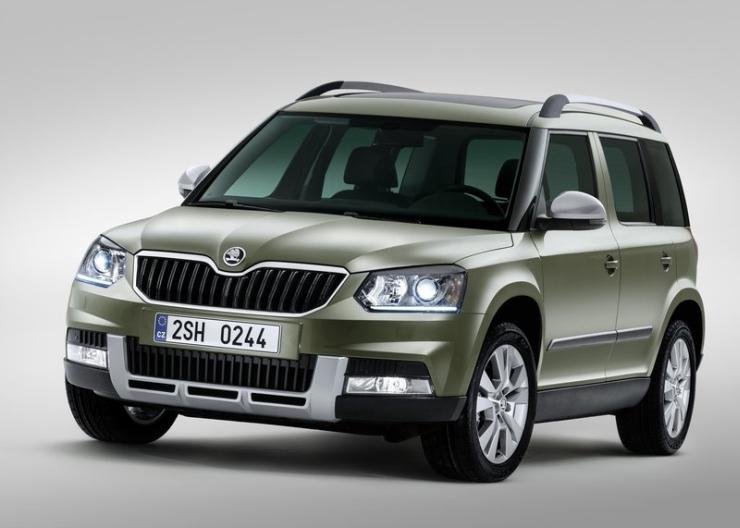 2014 Skoda Yeti SUV Facelift 1