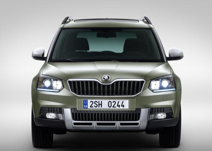 2014 Skoda Yeti SUV Facelift 5