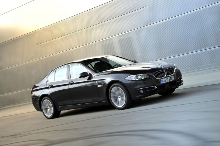 BMW adds more power to the 5-Series 520d Luxury Saloon