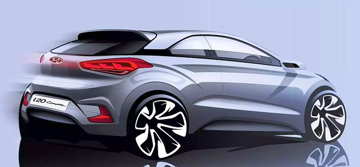 2015 Hyundai i20 3 Door Hatchback Sketch