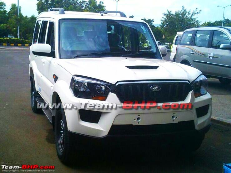 2015 Mahindra Scorpio SUV Facelift – This is IT