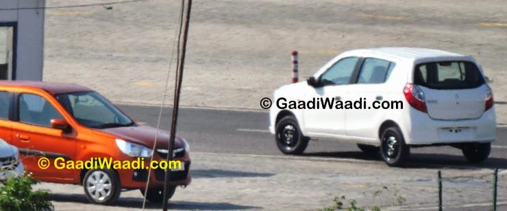 Maruti Suzuki Alto K10 Facelift caught without camouflage