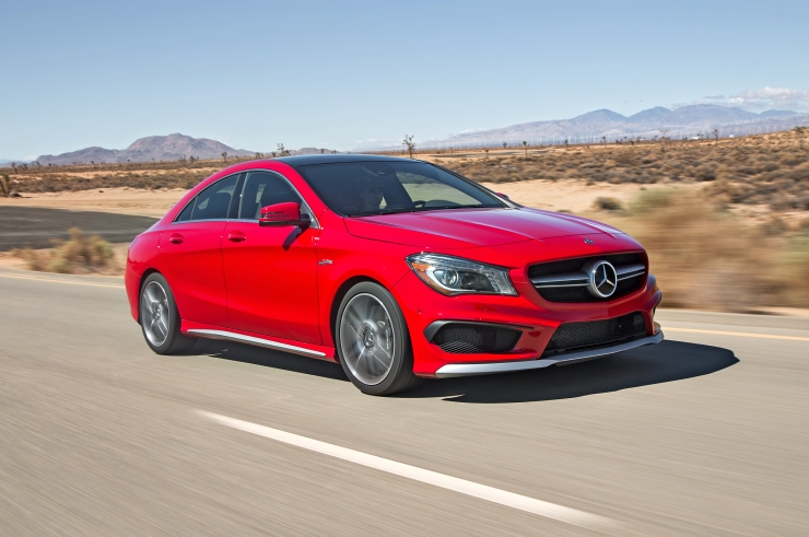 2015 Mercedes Benz CLA Sedan Pic