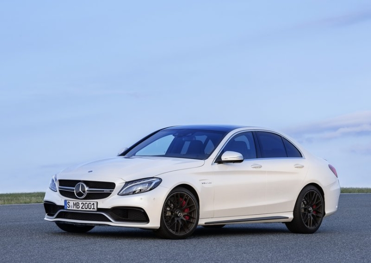 India-bound 2015 Mercedes Benz C63 AMG High Performance Sedan – Official Images and Details