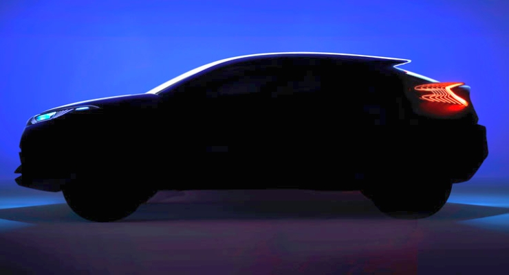 2017 Toyota CH-R Crossover Teaser Image