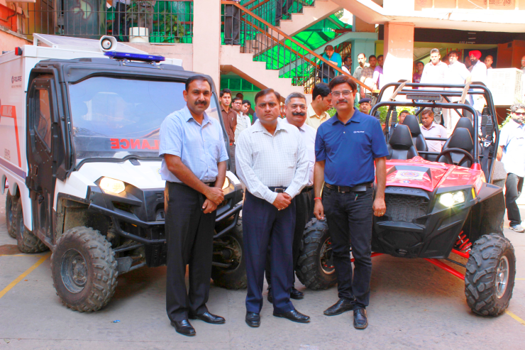 Polaris India pitches its ATVs for flood relief support in Jammu & Kashmir