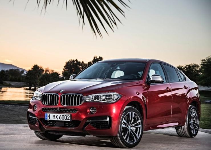 2015 BMW X6 Luxury Crossover 7