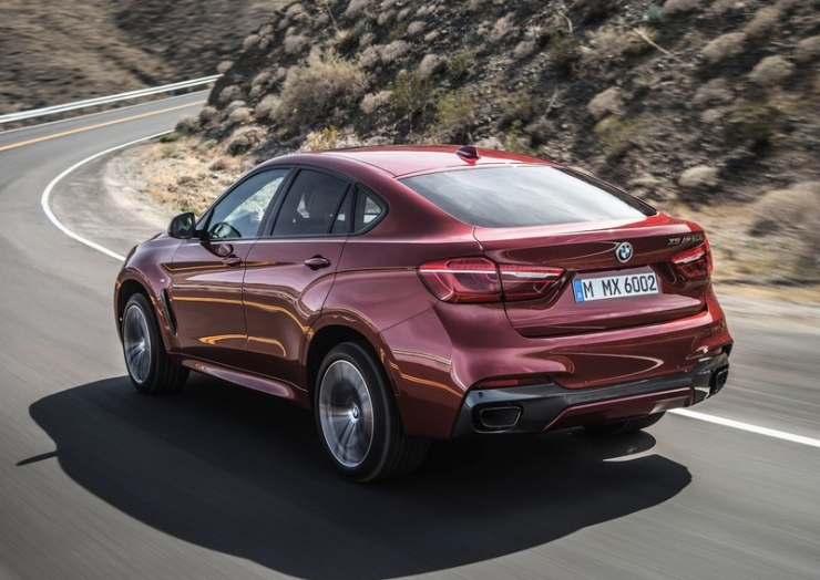2015 BMW X6 Luxury Crossover 8
