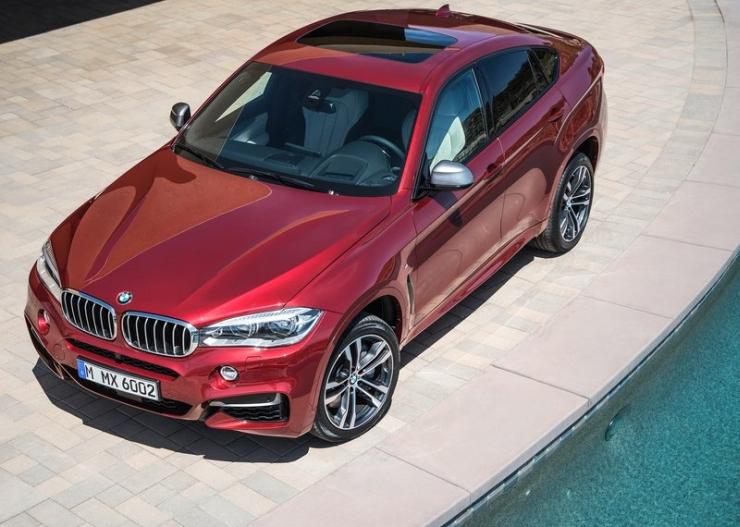 2015 BMW X6 Luxury Crossover 9