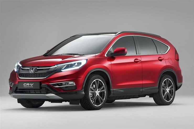 2015 Euro-Spec Honda CR-V Crossover Facelift 1
