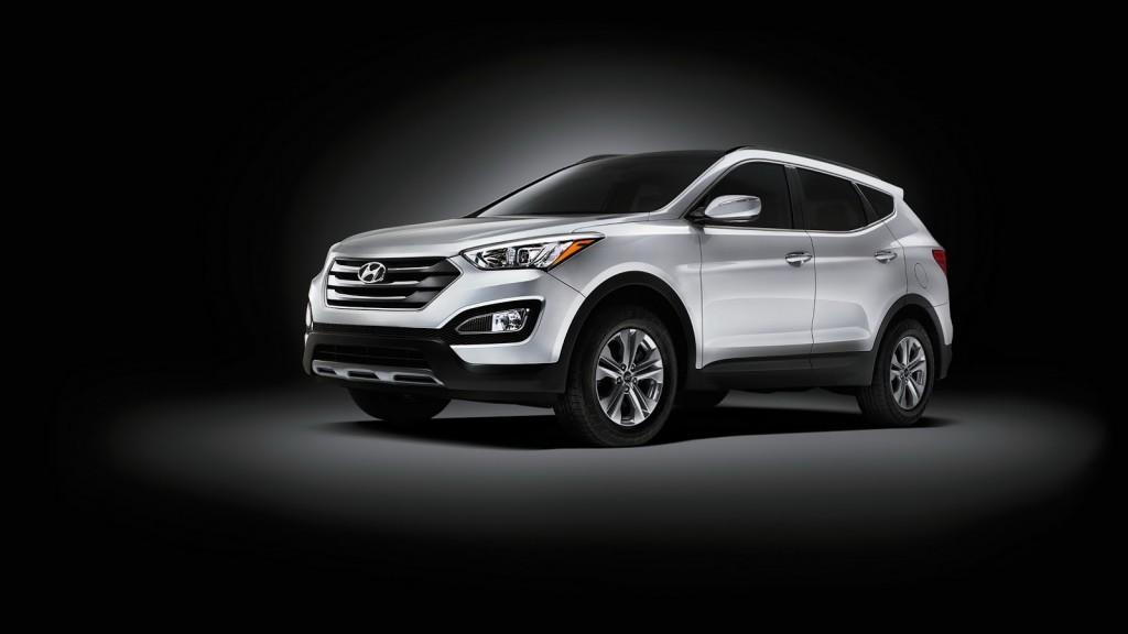 2015 Hyundai Santa Fe Luxury SUV 3