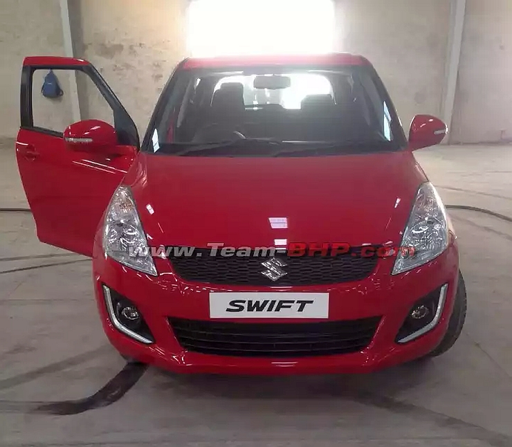2015 Maruti Suzuki Swift Hatchback Facelift Emerges