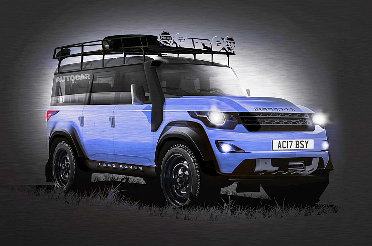 2016 Land Rover Defender SUV Render Photo
