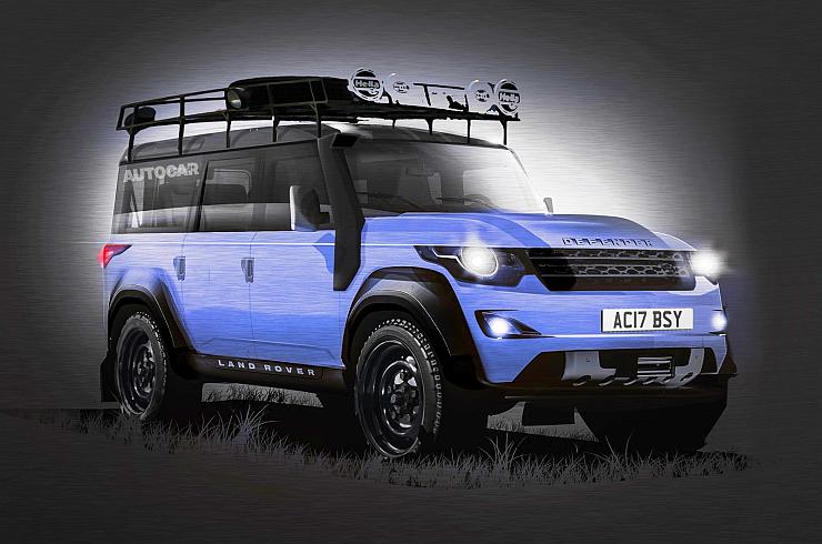 2016 Land Rover Defender SUV Render Photo