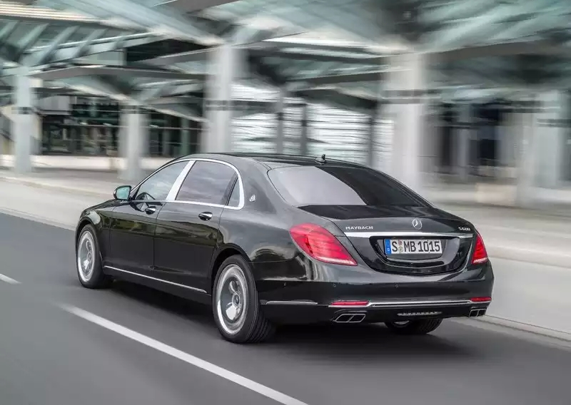Maybach is back, as a Mercedes Benz W222 S-Cl Limousine