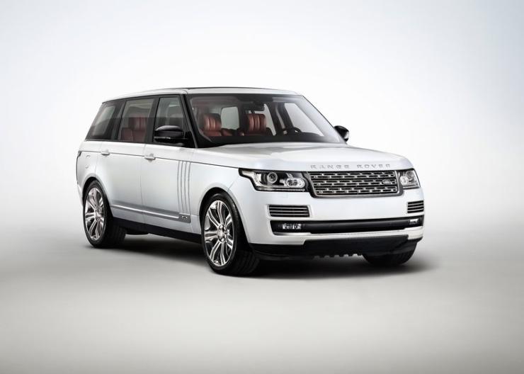 2015 Range Rover Luxury SUV 1