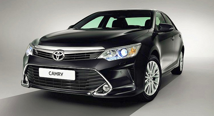 2015 Toyota Camry Sedan Facelift Photo