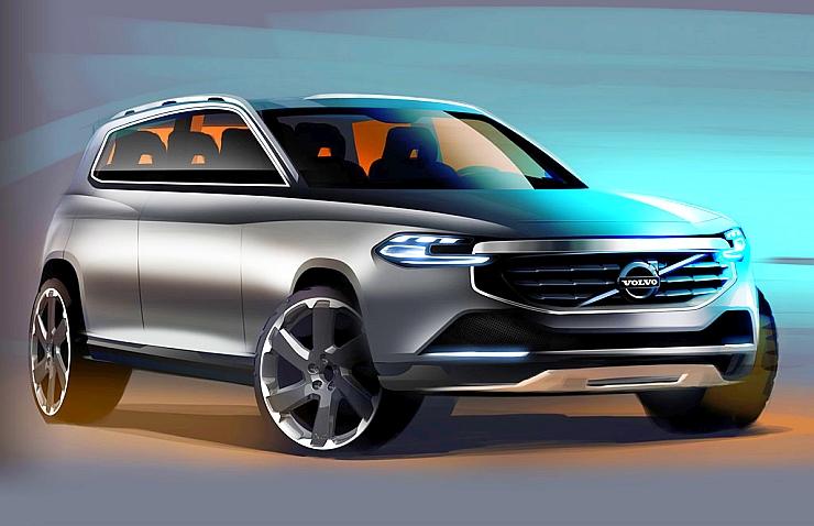 Volvo XC40 Render Image