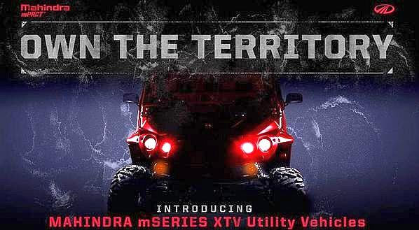 Mahindra mPACT mSeries ATV Teaser Pic