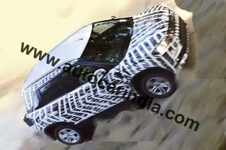 2016 Maruti Suzuki YBA code-named XA Alpha concept based Compact SUV Spyshot Picture