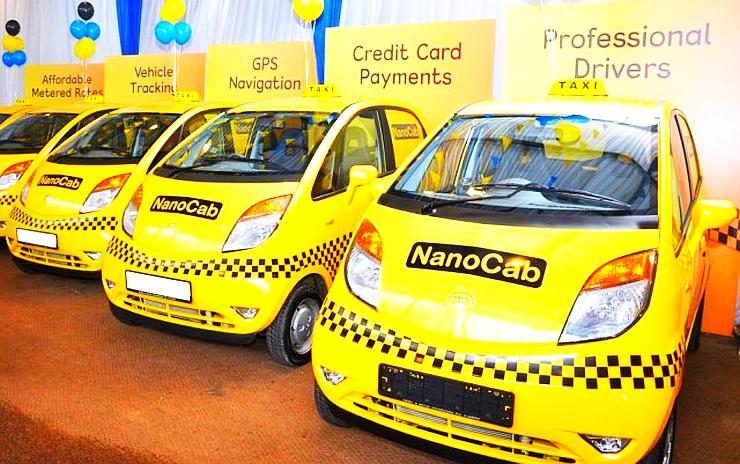 Tata Nano Cabs in Sri Lanka Photo